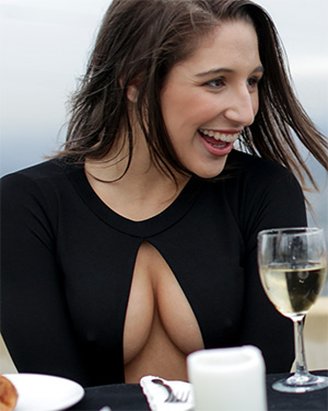 Abella Danger Lunch Date Gone Wild