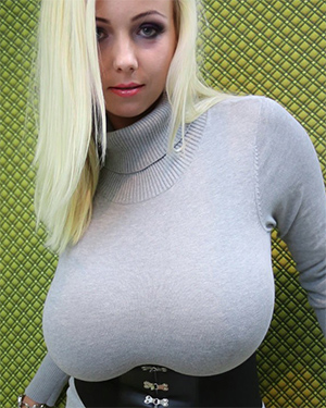 Agnetis Skin Tight Sweater Dress