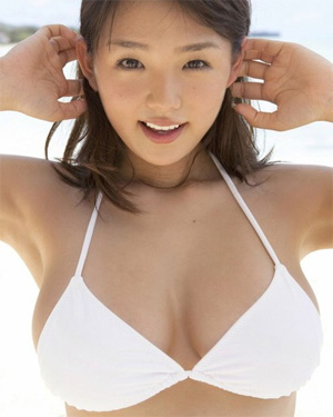 Ai Shinozaki White Sand Boobs