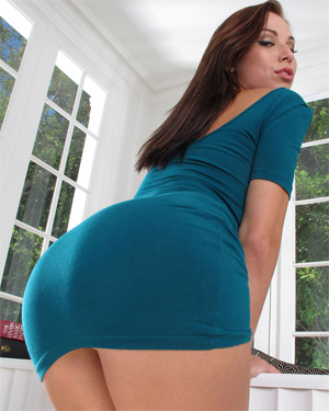 Aidra Fox Blue Dress In The Crack