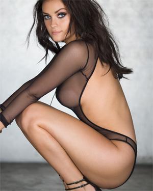 Alexandra Tyler Perky Brunette Playmate