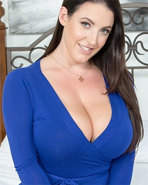 Angela White whoops her boobs fell out of her dress