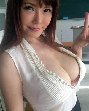 Anri Okita Busty Asian Model