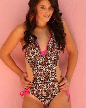 Ariana Thomas Leopard Skin