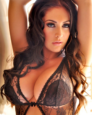 Ashley Emma Black Lingerie