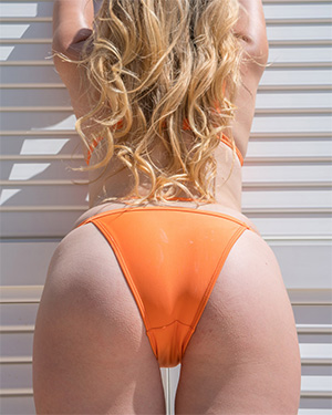 Ashley J Orange Real Bikini Girls