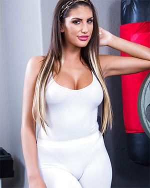 August Ames Tight and Busty