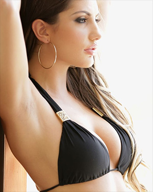 August Ames Black Bikini Seduction