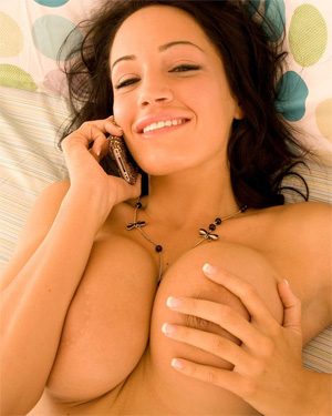 Ava Milano Busty In Bed