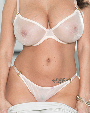 Ava Addams Loves Her New Sheer Lingerie