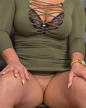 Bailey Martin Tight Dress No Panties