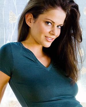 Beth Williams Busty Brunette Cybergirl