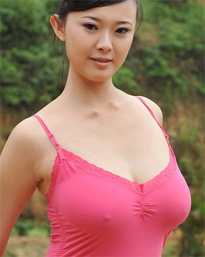Bing Le Busty Asian Beauty