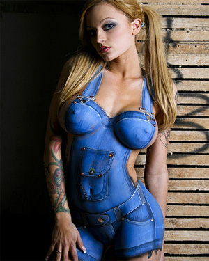 Bodypaint Girls