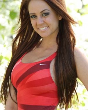 Brittany Red Swimsuit Heaven