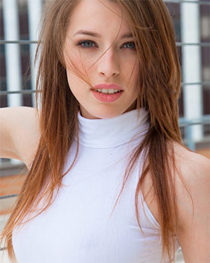Caitlin McSwain City Flasher This Years Model