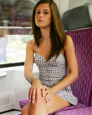 Caprice Horny Train Ride