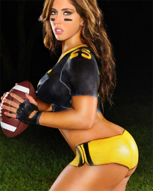 Carmen Ortega Football Babe