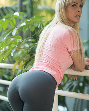 Cherie Deville Yoga Pants Therapy