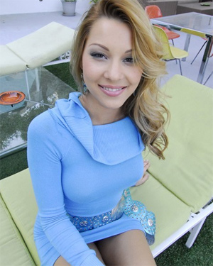 Cindy Hope Blue Dress POV