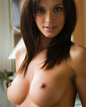 Orsi Kocsis Happy and Nude