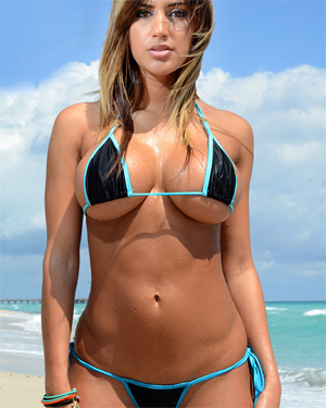 Claudia Sempedro Bikini