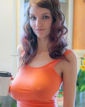 Cosmic Busty Kitchen Girl Cosmid