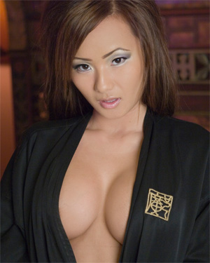 Cristal Vang Silk Robe Nitin