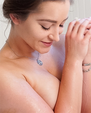 Dani Daniels Nude Bubble Bath