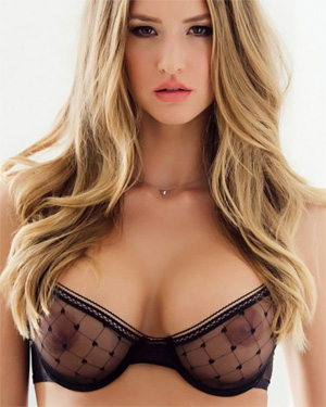 Danica Thrall Sexy Blonde Model