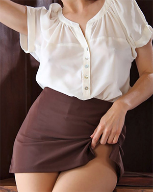 Darci Mini Skirt Secretary Office Fantasy