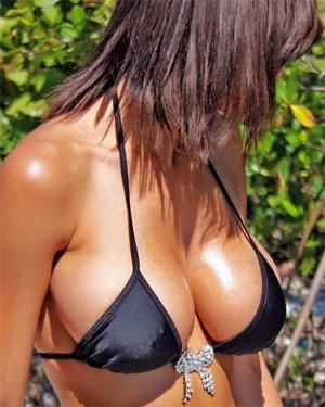 Dee Dee String Bikini Beach