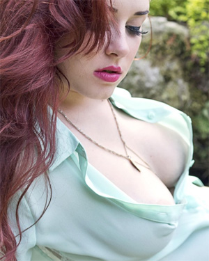 Dot Cute Redhead Suicidegirls