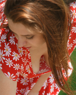 Elektra Rose Flower Dress Zishy