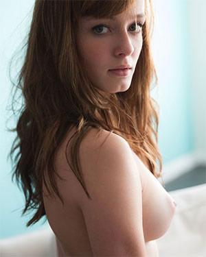 Ellie Jane Cute Redhead Perky Tits