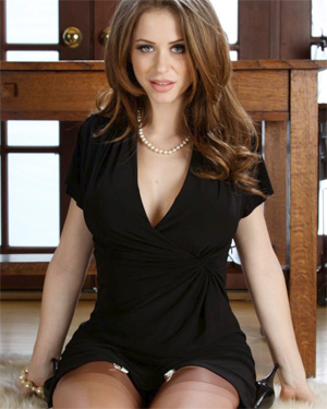 Emily Addison Horny Office