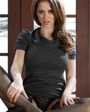 Emily Addison Sexy Office