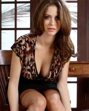 Emily Addison Office Babe