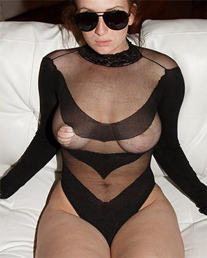 Emmy Sinclair See Thru Bodysuit Zishy