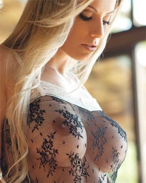 Franciele Perao Sexy In Sheer
