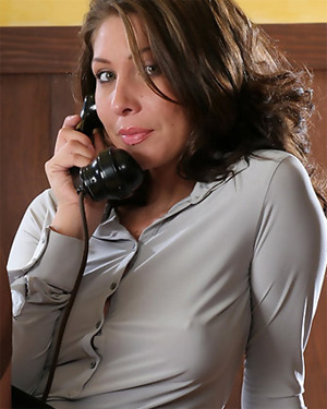 Gina Excited Secretary