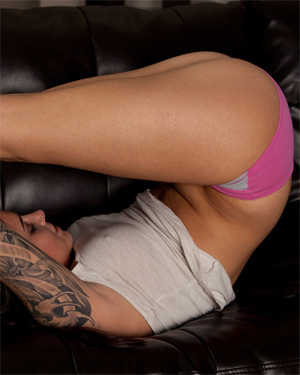 Hailey Leigh Purple Pants