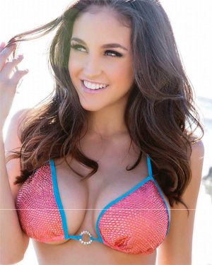 Jaclyn Swedberg Busty Brunette Playboy