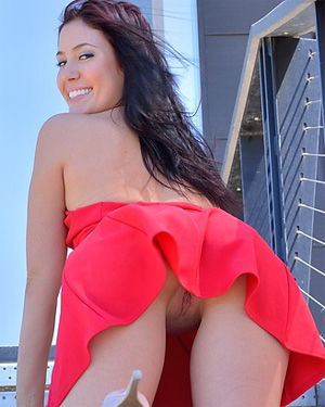Janessa FTV Red Hot Dress