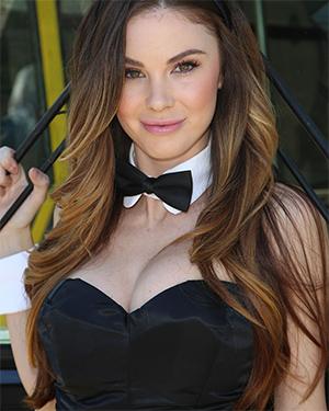 Jayde Nicole Sexy Brunette Playmate