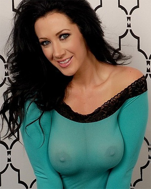 Jayden Jaymes Green See Thru Dress