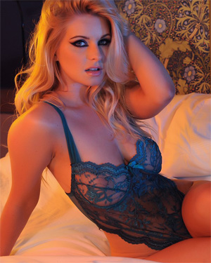 Jess Davies See Thru Bodysuit