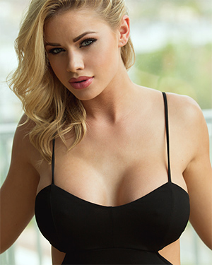 Jessa Rhodes Naked Under Her Black Dress
