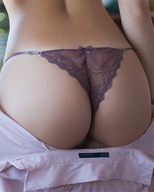Jocasta Doyle Purple Panties