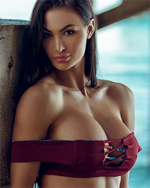 Katelyn Runck Heats Up Vegas